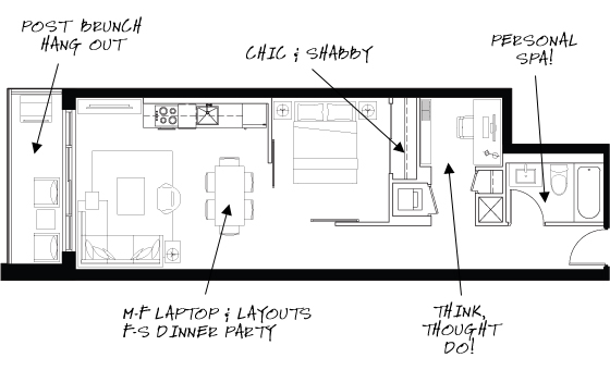 DUKE Condos Floorplan